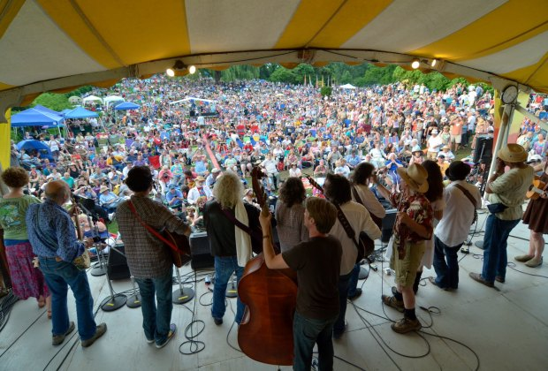 Clearwater's Great Hudson River Revival is one of our favorite summer festivals.