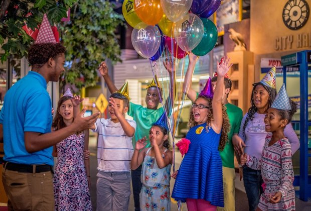 The sky's the limit with the imaginative fun that can be had at a museum birthday party./Photo courtesy of the Children's Museum of Houston.