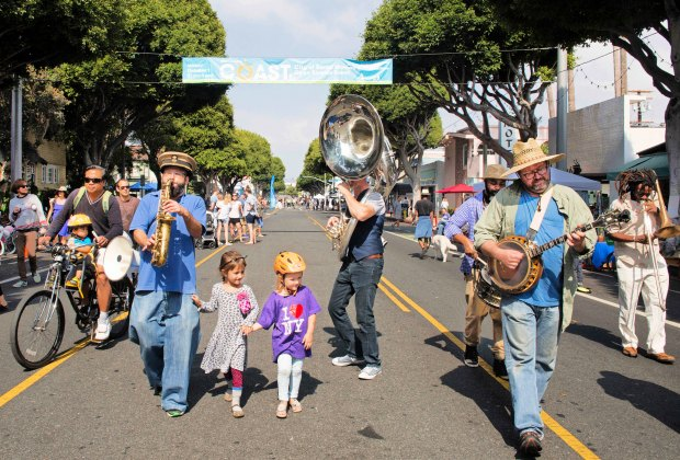 Coast Open Streets in Santa Monica. Photo by Kristina Sado