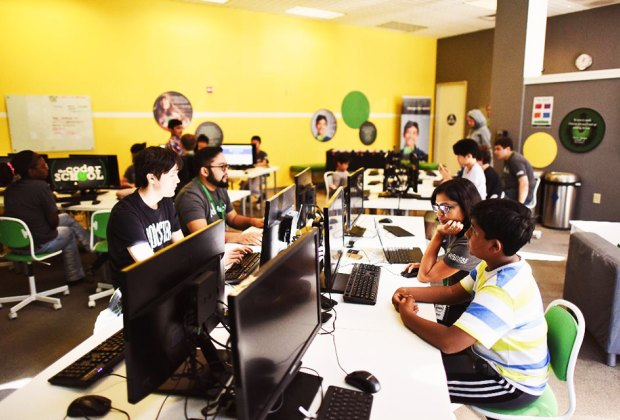 Computer-minded kids might want to check out The Coder School's new Roslyn location.