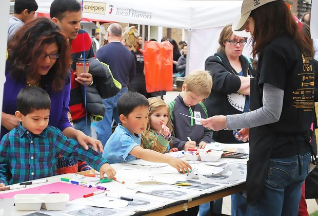 Enjoy art stations, music, and more at Communverisity Arts Fest in Princeton. Photo courtesy of the event