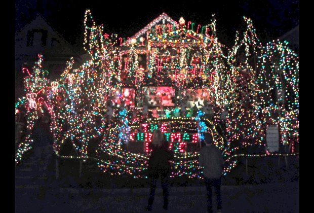 The Christmas House in Torrington, Connecticut
