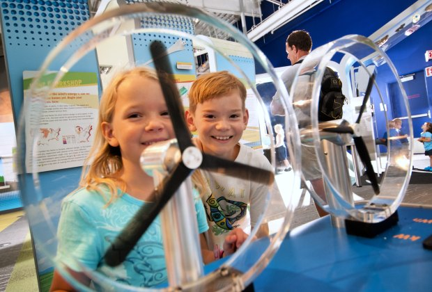 Connecticut Science Center. Photo courtesy of Connecticut Office of Tourism