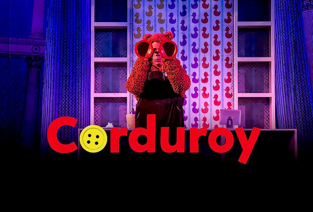 A small bear's quest for a missing button leads to the friendship of a lifetime in Corduroy. Photo courtesy of the Emerald City Theater