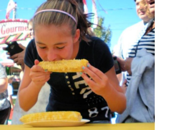There's all kinds of corny fun at the Four Town Fair. Photo courtesy of the fair