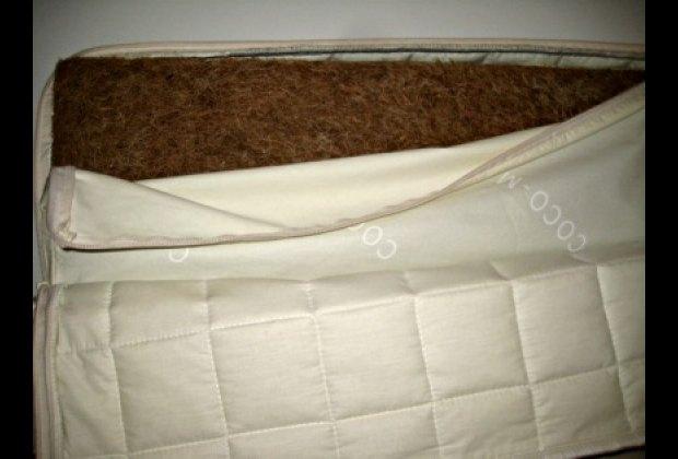 Coco-Mat's coconut fiber crib mattress