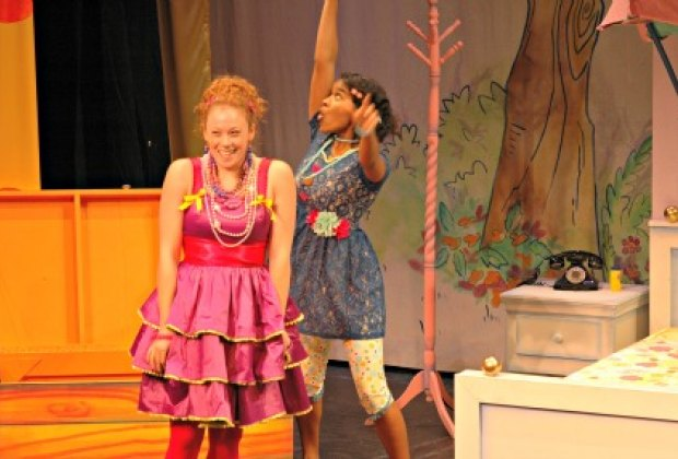 Nancy and her BFF Bree; Photo Credit: Sun Productions