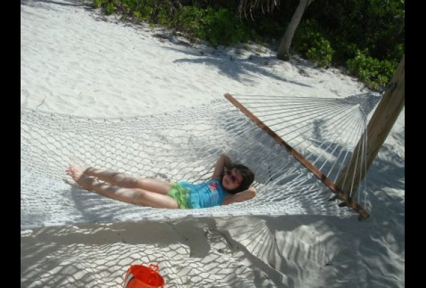 Relaxing is the main event at Castaway Cay