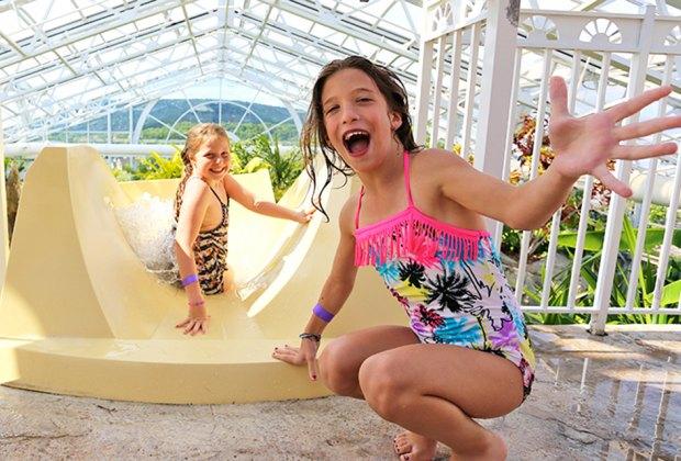 Crystal Springs Resort's Biosphere pool brings a taste of the tropics to New Jersey.