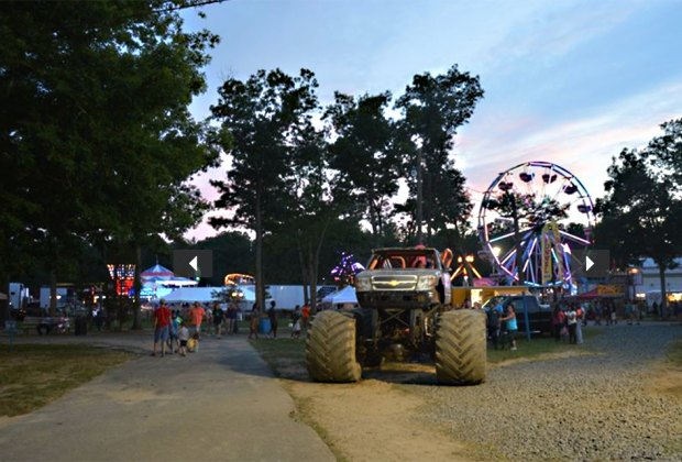 Play all day, then stick around for the fireworks at the Cumberland County Fair on July 5. Photo courtesy of the fair