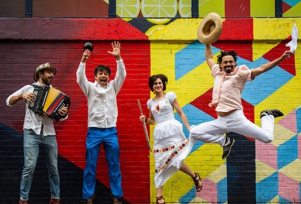 Cumbia for kids celebrates Colombian music and dance at Tarrytown Music Hall. Photo courtesy of the production
