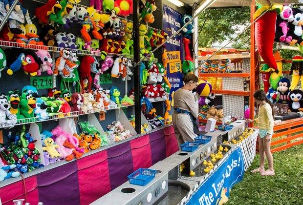 Custer Fair has been an Evanston family tradition since 1972. Photo courtesy of the Custer Fair