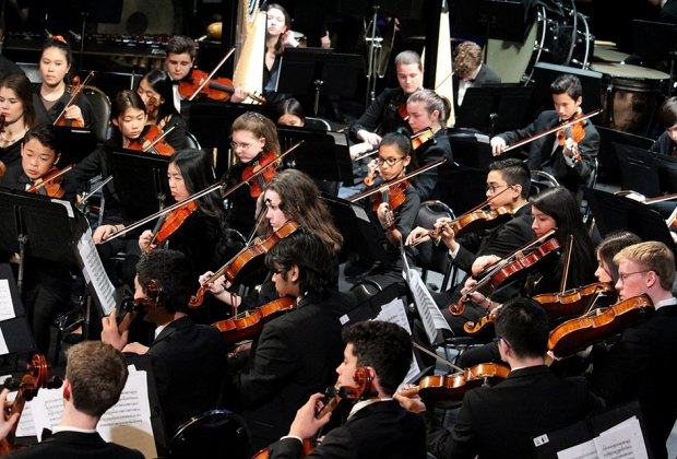 CYSO's Symphony Orchestra plays a free concert celebrating summer. Photo courtesy of  CYSO