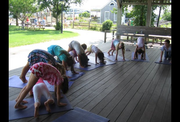 love Marjory Trott's Dance(S)ing classes at the Children's Beach Bandstand