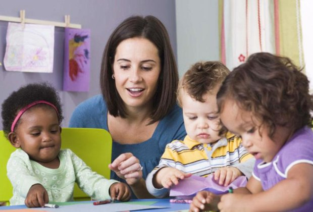 Teachers that are fully engaged in play make kids and parents happy. Photo via Bigstock