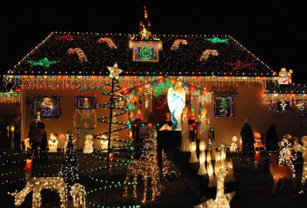 The Smith Christmas Display