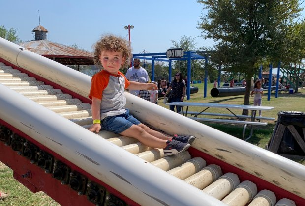 Dewberry Farm slide