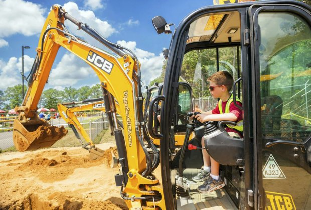 More than 4,000 eggs will be waiting to found at Diggerland USA. Photo courtesy of Diggerland