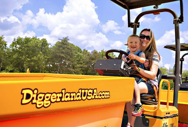 Diggerland officially opens for the season on Saturday, March 16 at 11 am! Photo courtesy of Diggerland