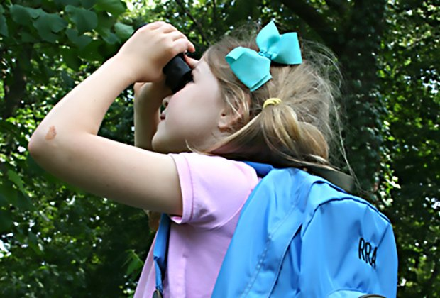Drop by the Stackhouse Education Center at the Reeves-Reed Arboretum on Saturdays for an interactive exploration of nature. Photo courtesy of the arboretum