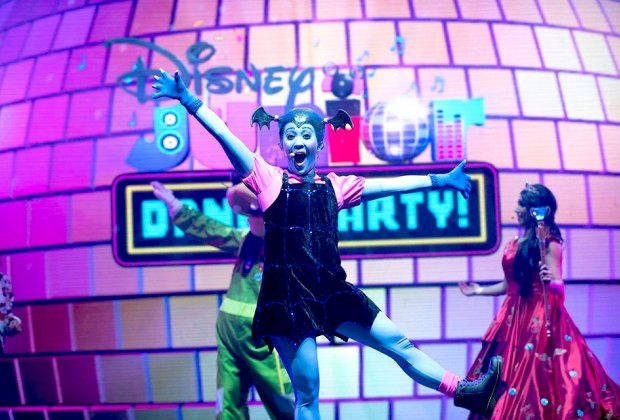 See your favorite Disney characters in action at NJPAC. Photo courtesy of Disney Junior Dance Party