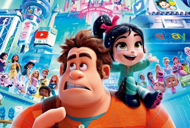 Catch a FREE showing of Ralph Breaks the Internet 2 at Movies in the Park in West New York. Photo courtesy of Disney
