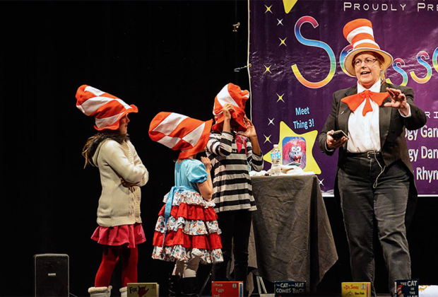 The Morris Museum continues its annual tradition of hosting a Family Day inspired by Dr. Seuss. Photo courtesy of the museum