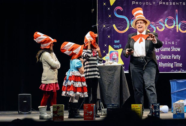 Celebtate the birthday of Dr. Seuss at the Morris  Museum with readings of classics and other activities. Photo courtesy of the Morris Museum