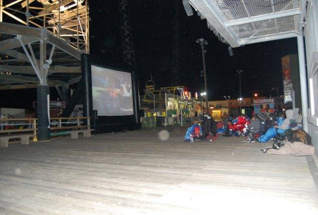 Movie on the Boardwalk