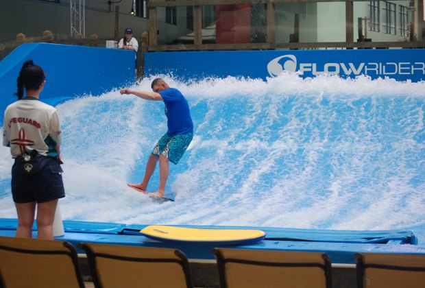The awesome Bombora FlowRider