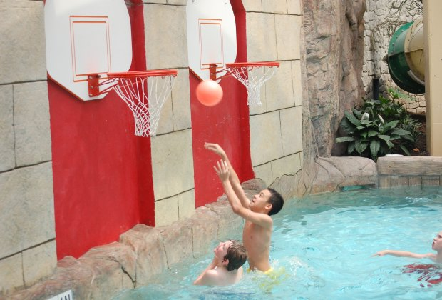 Basketball water fun