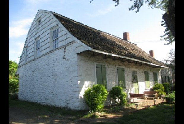 The historic Vander Ende-Onderdonk House is the oldest stone house in all of NYC