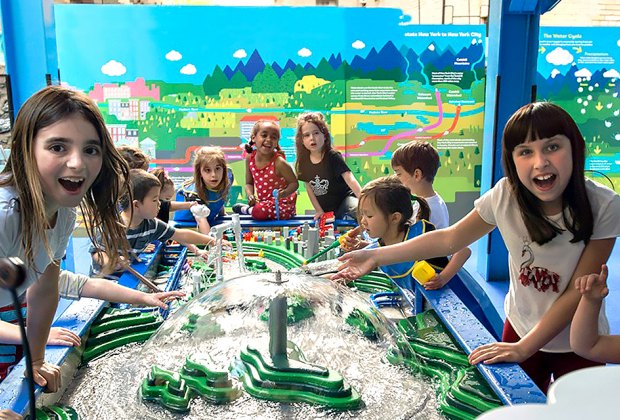 Celebrate the start of summer at CMOM with a bubble party!  Photo courtesy of the museum