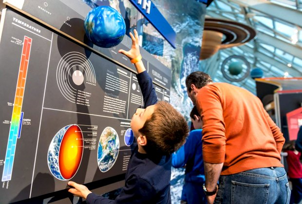 Celebrate all things Earth at Earthfest at the Adler Planetarium. Photo courtesy of the planetarium