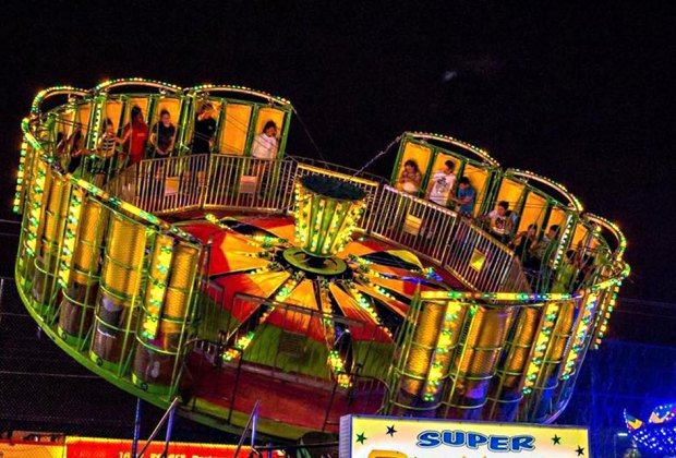 Get your spin on if you dare at the East Northport Festival. Photo courtesy of the East Northport Chamber of Commerce