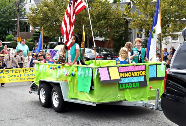 """The Eastchester Columbus Day Carnival and Parade, a.k.a., the """"Lake Isle Carnival,"""" features a parade, meatball contest, fireworks, and more. Photo courtesy of the event"""