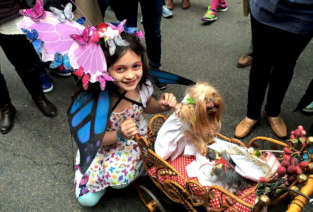 Get decked out and join in the Easter Parade and Bonnet Festival. Photo by Raven Snook