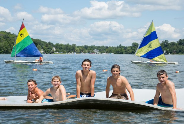 <i>Camp Awosting in CT thrills boys ages 6-16 with a first -time sleep away camp experience to remember.</i>