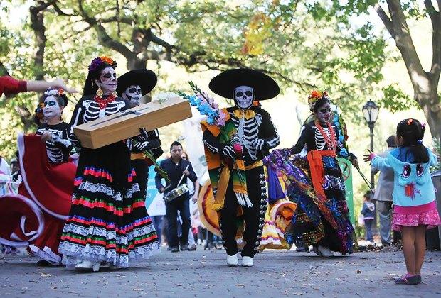 Join the Dia de los Muertos parade at El Museo del Barrio.