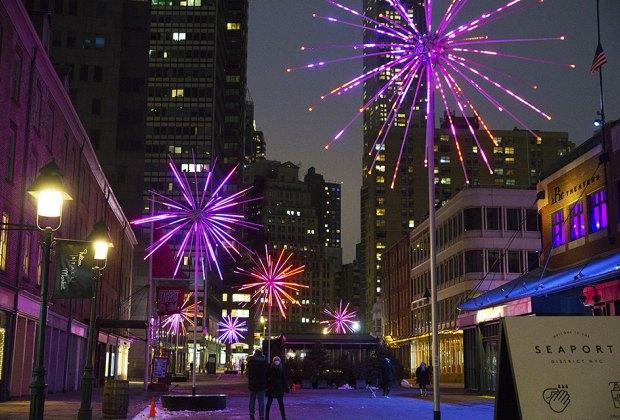 Electric Dandelion Public Art NYC