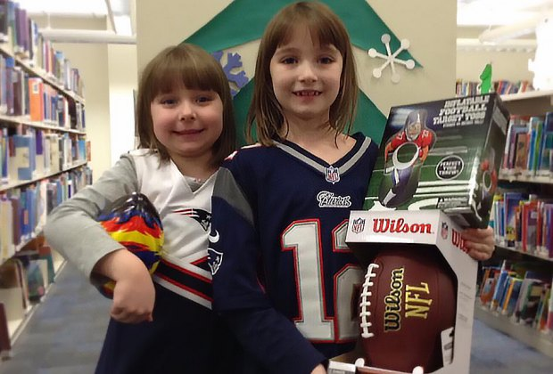 Get ready for  Super Bowl Sunday at the Emma S. Clark Library. Photo courtesy of the library