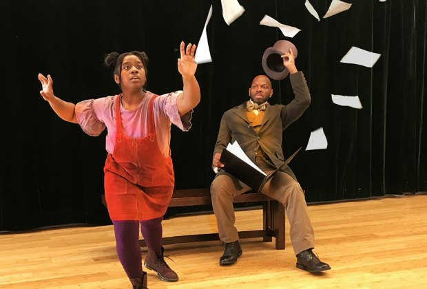 Fall under the spell of The Emperor's New Clothes and More Magical Stories by New York City Children's Theater. Photo courtesy of New York City Children's Theater and Nadav Wiesel.