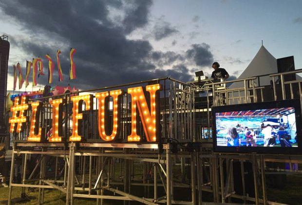 Enjoy games, rides, attractions, and more at the Long Island Fun Fest. Photo of the festival