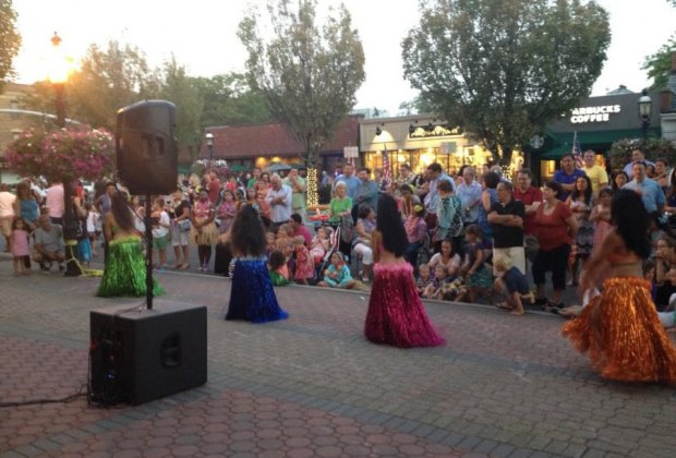 Themed nights  at Garden City village include a Hawaiian luau. Photo courtesy of Garden City village