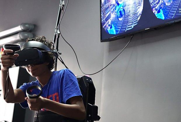 Check out Escape Virtual Reality. Photo by Jody Mercier