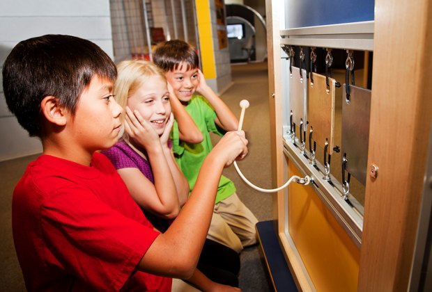 Make some noise as you discover the power of sound at the Long Island Children's Museum.