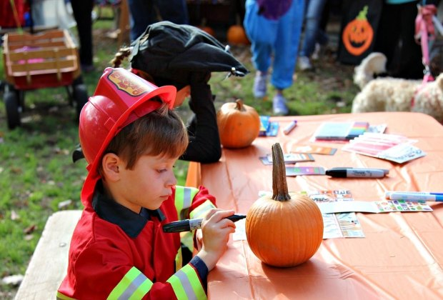 Halloween on the Green. Photo courtesy of Fairfield Museum