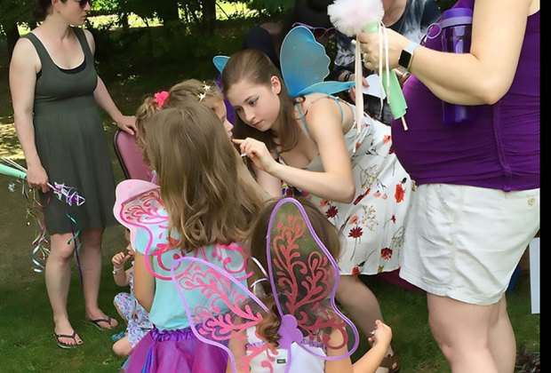 Grab your wings and head to the Fairy Festival at the Orange County Arboretum. Photo courtesy of Orang County Parks