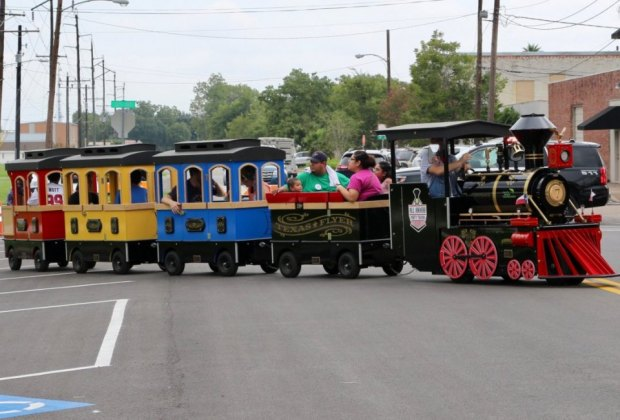 May the steam be with you during Fall Fun Fest at the Railroad Museum. Photo courtesy of Rosenberg Railroad Museum.