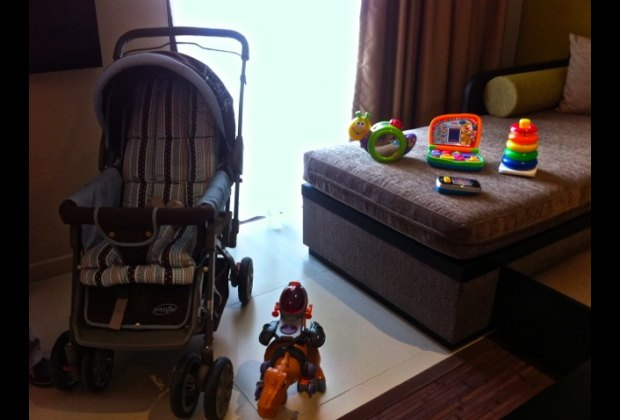 select from the toy menu and have baby necessities delivered to your room 24/7
